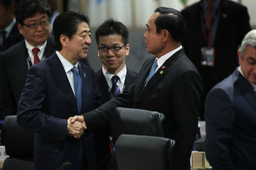Prayut Chan-O-Cha World Leaders Gather for Plenary Session at Nuclear Security Summit
