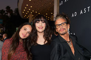 """(L-R) Chelsea Tyler, Liv Tyler, and Steven Tyler attend the premiere of 20th Century Fox's """"Ad Astra"""" at The Cinerama Dome on September 18, 2019 in Los Angeles, California."""