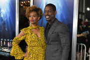"Ryan Michelle Bathe (L) and Sterling K. Brown attend the premiere of 20th Century Fox's ""Breakthrough"" at Westwood Regency Theater on April 11, 2019 in Los Angeles, California."