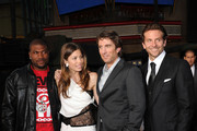 "(L-R) Actors Quinton 'Rampage' Jackson, Jessica Biel, Sharlto Copley, and Bradley Cooper arrive at the premiere of 20th Century Fox's ""The A-Team"" held at Grauman's Chinese Theatre on June 3, 2010 in Los Angeles, California."