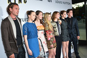 "Actors Gavin Rossdale, Taissa Farmiga, Katie Chang, Claire Julien, director Sofia Coppola, actors Emma Watson and Israel Broussard arrive to the Los Angeles premiere of A24's ""The Bling Ring"" at Directors Guild Of America on June 4, 2013 in Los Angeles, California."