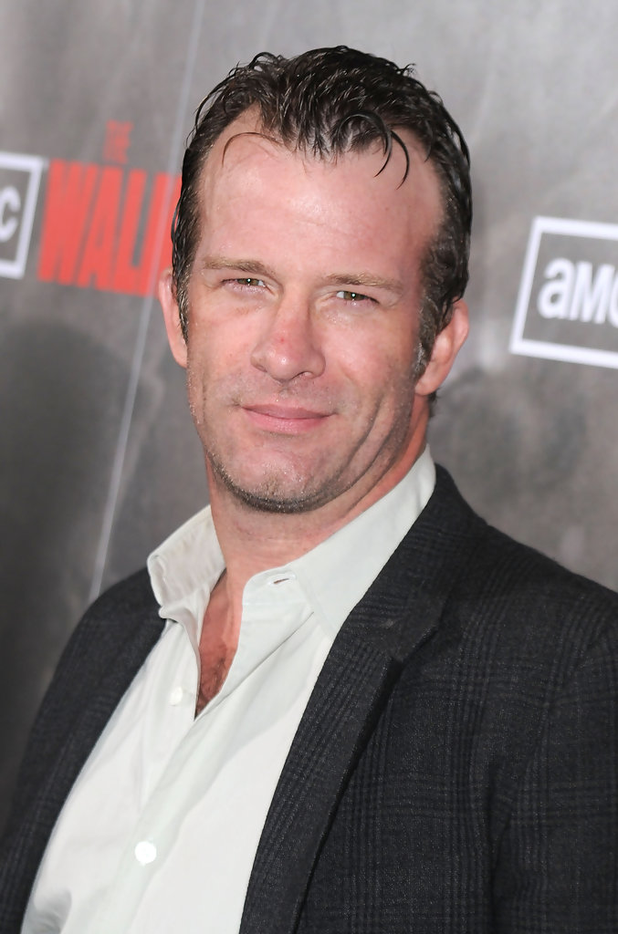 thomas jane in premiere of amcs quotthe walking dead