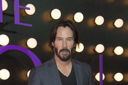 Actor Keanu Reeves attends the Neon Demon Premiere, in Hollywood, California, on June 14, 2016. / AFP / VALERIE MACON