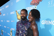 Actors David Oyelowo (L) and Lupita Nyong'o attend the world premiere of 'Gringo' from Amazon Studios and STX Films at Regal LA Live Stadium 14 on March 6, 2018 in Los Angeles, California.