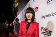 """Karen O attends the premiere of Amazon Studios' """"Suspiria"""" at ArcLight Cinerama Dome on October 24, 2018 in Hollywood, California."""