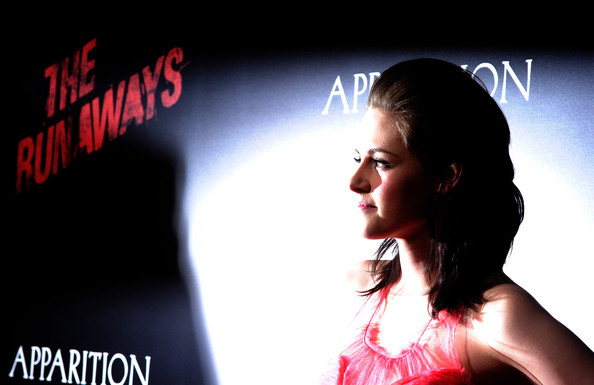 Actress Kristen Stewart arrives at the premiere of Apparition's 'The Runaways' held at ArcLight Cinemas Cinerama Dome on March 11, 2010 in Los Angeles, California.