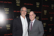 Jon Avnet and Matthew Weiner attend the premiere of 'Are You Here' at ArcLight Hollywood on August 18, 2014 in Hollywood, California.
