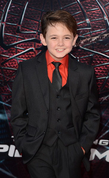 """Max Charles in Premiere Of Columbia Pictures' """"The Amazing ..."""