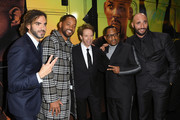 "(L-R) Adil El Arbi, Will Smith, Jerry Bruckheimer, Martin Lawrence, and Bilall Fallah attend the premiere of Columbia Pictures' ""Bad Boys For Life"" at TCL Chinese Theatre on January 14, 2020 in Hollywood, California."