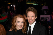 "(L-R) Jerry Bruckheimer and Linda Bruckheimer attend the premiere of Columbia Pictures' ""Bad Boys For Life"" at TCL Chinese Theatre on January 14, 2020 in Hollywood, California."