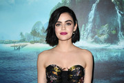 "Lucy Hale attends the premiere of Columbia Pictures' ""Blumhouse's Fantasy Island"" at AMC Century City 15 on February 11, 2020 in Century City, California."