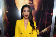 Chrissie Fit attends the premiere of Columbia Pictures' 'Miss Bala' at Regal LA Live Stadium 14 on January 30, 2019 in Los Angeles, California.