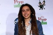 "Recording artist Jason Castro attends the ""Prep & Landing"" film premiere at The El Capitan Theatre on November 16, 2009 in Hollywood, California."