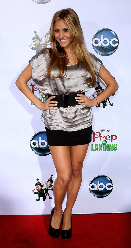 cassie scerbo photos photos premiere of disney and abcs