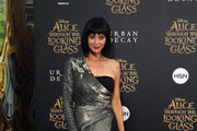 """Actress Catherine Bell attends the premiere of Disney's """"Alice Through The Looking Glass at the El Capitan Theatre on May 23, 2016 in Hollywood, California."""