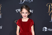 """Actor Julia Butters attends Disney's """"Beauty and the Beast"""" premiere at El Capitan Theatre on March 2, 2017 in Los Angeles, California."""