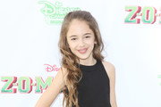 """Julia Butters attends the Los Angeles premiere for Disney Channel's """"Zombies"""" held at Walt Disney Studio Lot on February 3, 2018 in Burbank, California."""