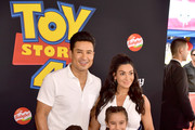 Mario Lopez and Courtney Laine Mazza Photos Photo