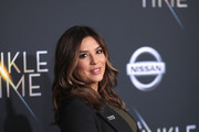"""Eva Longoria attends the premiere of Disney's """"A Wrinkle In Time"""" at the El Capitan Theatre on February 26, 2018 in Los Angeles, California."""