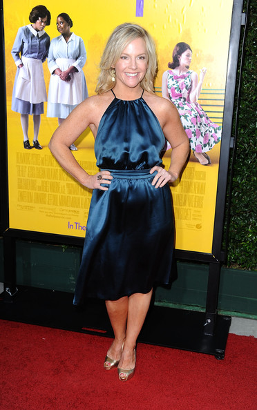 Actress Rachael Harris attends the premiere Of DreamWorks Pictures' 'The Help' held at The Academy of Motion Picture Arts and Sciences, Samuel Goldwyn Theater on August 9, 2011 in Beverly Hills, California.