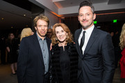 Jerry Bruckheimer, Linda Bruckheimer, and Scott Cooper attend the after party for the premiere of Entertainment Studios Motion Pictures' 'Hostiles' on December 14, 2017 in Beverly Hills, California.
