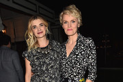 """Actors Megan Ferguson and Stephnie Weir attend the after party for the premiere of FX's """"The Comedians"""" at the Viceroy Hotel on April 6, 2015 in Santa Monica, California."""
