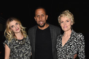 """Actors Megan Ferguson, Affion Crockett and Stephnie Weir attend the after party for the premiere of FX's """"The Comedians"""" at the Viceroy Hotel on April 6, 2015 in Santa Monica, California."""