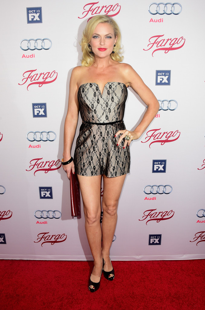 Actress Elaine Hendrix attends the premiere of FXXs The