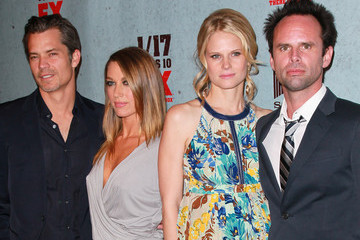 """Natalie Zea Joelle Carter Premiere Of FX Networks & Sony Pictures Television's """"Justified"""" Season 3 - Arrivals"""