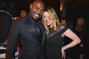 """Director Antoine Fuqua and executive producer Meidi Jo Markel attend the after party for the premiere of FilmDistrict's """"Olympus Has Fallen"""" at Lure on March 18, 2013 in Hollywood, California."""