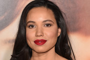 "Jurnee Smollett attends the premiere of Focus Features' ""The Danish Girl"" at Westwood Village Theatre on November 21, 2015 in Westwood, California."