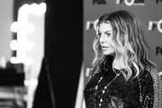 "Image has been converted to black and white.) Fergie attends the premiere of Fox's ""The Four: Battle For Stardom"" Season 2 at CBS Studios - Radford on May 30, 2018 in Studio City, California."