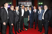 Producer David Ellison, producer Jerry Bruckheimer, director Ang Lee, Will Smith, Linda Emond, Benedict Wong, Clive Owen, Bill Westenhofer and Guy Williams attend the Premiere of Gemini Man at the TCL Chinese Theater in Hollywood, CA on October 6, 2019.