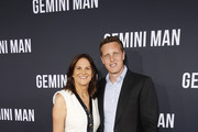 Producers Dana Goldberg and David Ellison attend the Premiere of Gemini Man at the TCL Chinese Theater in Hollywood, CA on October 6, 2019.