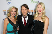 "(L-R) Kim Campbell, Cal Campbell and Ashley Campbell attends the Premiere of ""Glen Campbell... I'll Be Me"" at Pacific Design Center on November 11, 2014 in West Hollywood, California."