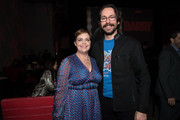 "Amy Gravitt and Martin Starr attend the after party for the premiere of HBO's ""Barry"" at NeueHouse Hollywood on March 21, 2018 in Los Angeles, California."