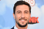 """Actor Pablo Schreiber arrives at the Premiere Of HBO's """"The Brink""""  at Paramount Studios on June 8, 2015 in Hollywood, California."""
