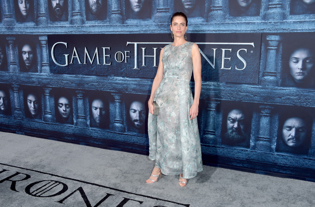 Amanda Peet Photos Photos - Premiere of HBO's 'Game of ...