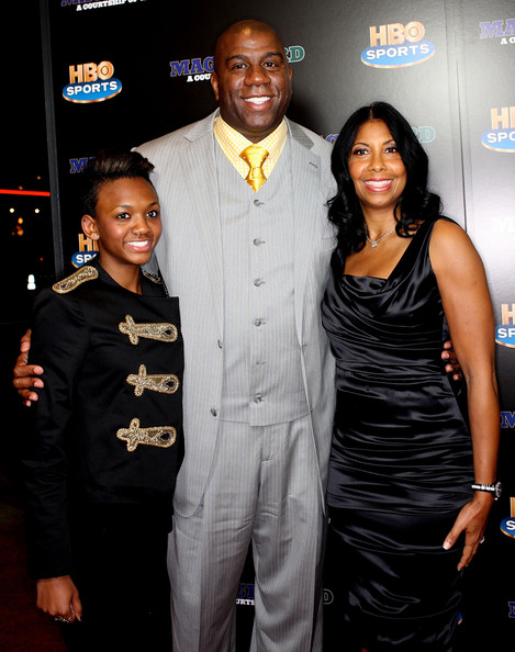 magic johnson grandchildren - photo #19