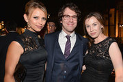 Actors Riley Voelkel, John Gallagher Jr. and Wynn Everett attend the after party for the premiere of HBO's 'The Newsroom' Season 2 at Paramount Theater on the Paramount Studios lot  on July 10, 2013 in Hollywood, California.