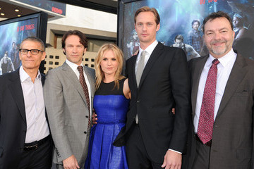 "Anna Paquin Alexander Skarsgard Premiere Of HBO's ""True Blood"" Season 3 - Arrivals"