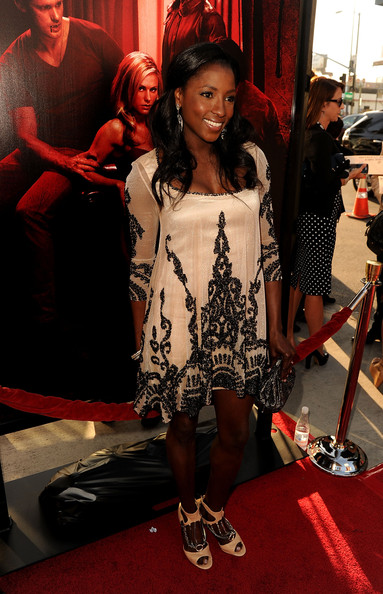 "Actress Rutina Wesley arrives at premiere of HBO's ""True Blood"" Season 4 at ArcLight Cinemas Cinerama Dome on June 21, 2011 in Los Angeles, California."