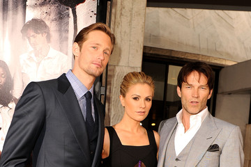 "Anna Paquin Alexander Skarsgard Premiere Of HBO's ""True Blood"" Season 4 - Red Carpet"