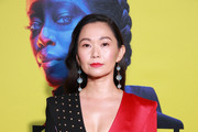 "Hong Chau attends the premiere of HBO's ""Watchmen"" at The Cinerama Dome on October 14, 2019 in Los Angeles, California."