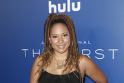 Tracie Thoms attends the premiere of Hulu's 'The First' at California Science Center on September 12, 2018 in Los Angeles, California.