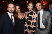 Actors Aaron Paul, Minka Kelley,  Michelle Monaghan and Hugh Dancy  attend the after party for the premiere of Hulu's 'The Path'  at ArcLight Hollywood on March 21, 2016 in Hollywood, California.