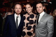 Actors Aaron Paul, Michelle Monaghan and Hugh Dancy attend the after party for the premiere of Hulu's 'The Path'  at ArcLight Hollywood on March 21, 2016 in Hollywood, California.