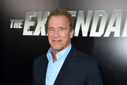 Actor Arnold Schwarzenegger attends the premiere of Lionsgate Films' 'The Expendables 3' at TCL Chinese Theatre on August 11, 2014 in Hollywood, California.