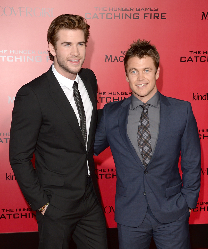 Photo of Liam Hemsworth & his  Brother  Luke Hemsworth