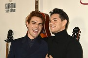 """(L-R) K.J. Apa and Casey Cott attend the premiere of Lionsgate's """"I Still Believe"""" at ArcLight Hollywood on March 07, 2020 in Hollywood, California."""